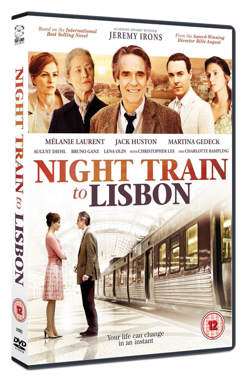 Night Train to Lisbon DVD